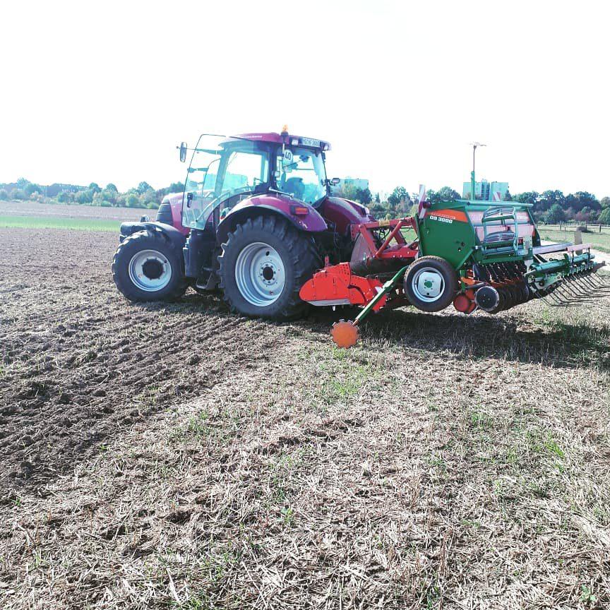 Landwirtschaft Traktor Franken Syderhof